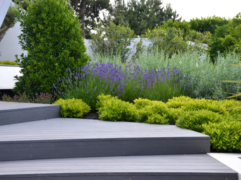 un jardin design de paysagiste concarneau henri mignon. Black Bedroom Furniture Sets. Home Design Ideas