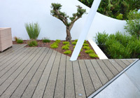 Terrasse en bois composite sylvadec
