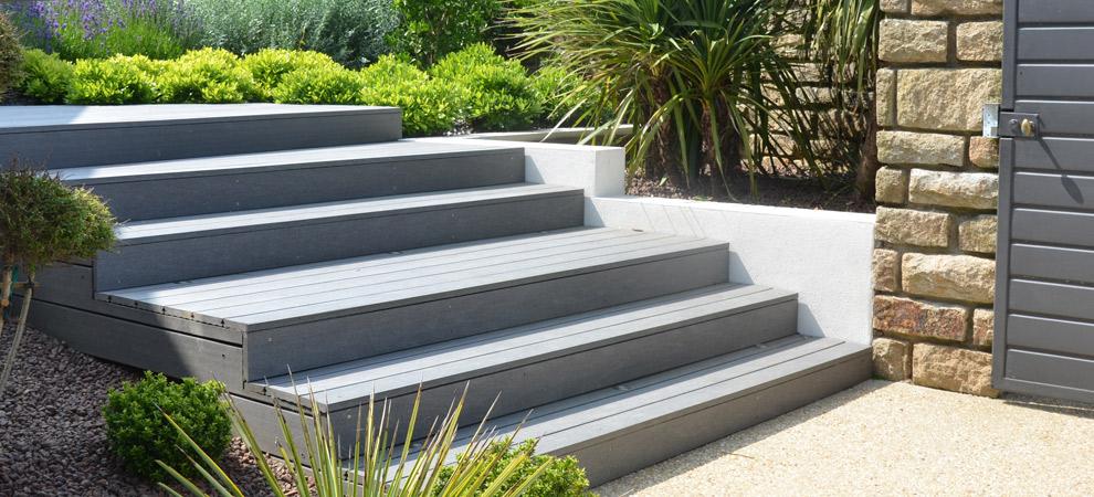 escalier de jardin lorient 56 henri mignon paysagiste. Black Bedroom Furniture Sets. Home Design Ideas